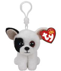 Ty Beanie Babies: Marcel Dog - Clip On Plush