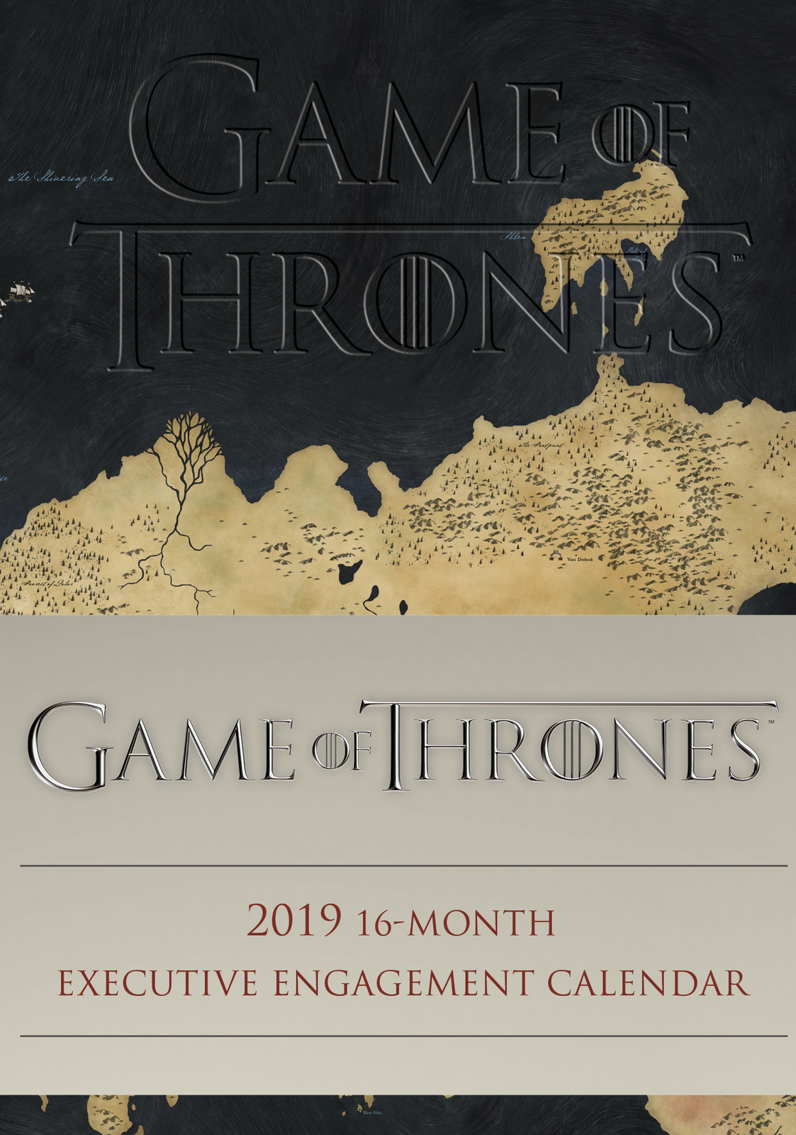 Game of Thrones 2019 16-Month Executive Engagement Calendar by HBO image