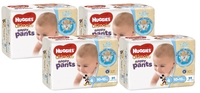 Huggies Ultimate Nappy Pants Bulk Shipper - Toddler Boy 10-15kgs (124)