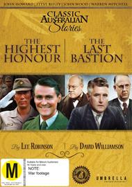 The Highest Honour/The Last Bastion on DVD