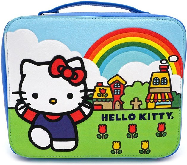 Loungefly: Hello Kitty - Rainbow Lunchbox Handbag
