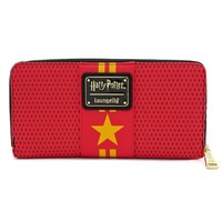 Loungefly: Harry Potter - Hogwarts Zip Wallet