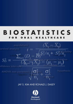 Biostatistics for Oral Healthcare by Jay Kim image