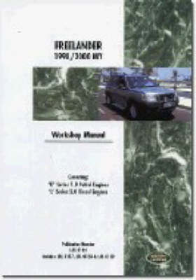 Land Rover Freelander Workshop Manual 1998-2000 by Land Rover