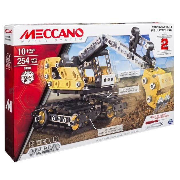 Meccano: Excavator - 2-in-1 Model Set