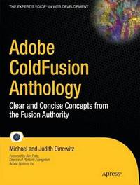 Adobe ColdFusion Anthology by Michael Dinowitz image