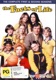 The Facts Of Life - Complete Seasons 1 And 2 (4 Disc Set) on DVD image