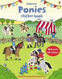 First Sticker Book: Ponies by Fiona Patchett
