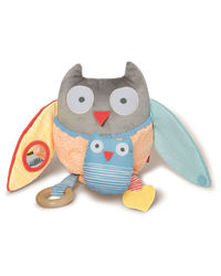 Skip Hop: Treetop Friend Activity Toy - Grey + Pastel image