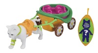 QPeas: Animal Carriages - Kitten Playset