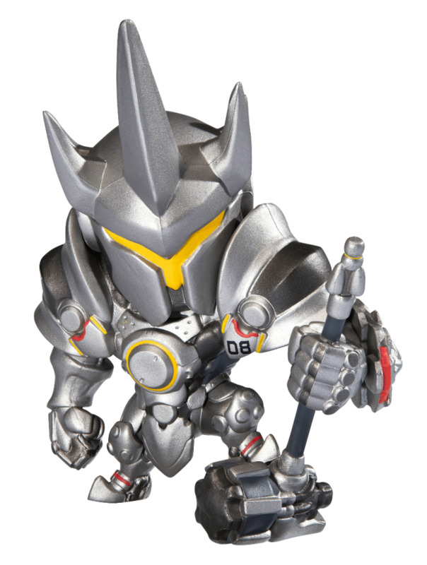 Overwatch: Cute but Deadly - Reinhardt Figure