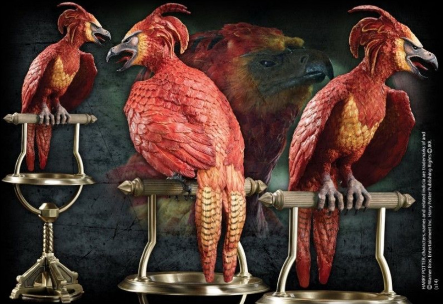 Harry Potter: Magical Creatures Statue - Fawkes The Phoenix image