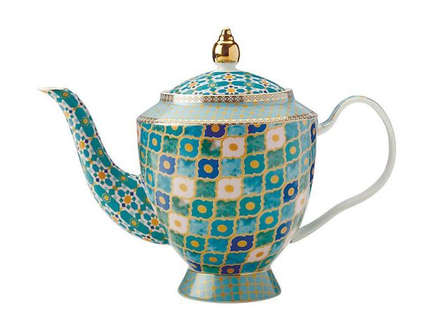 Maxwell & Williams Teas & C's: Kasbah Teapot with Infuser - Mint (1L)
