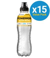 Powerade Active Water Lemon 750ml (15 Pack)