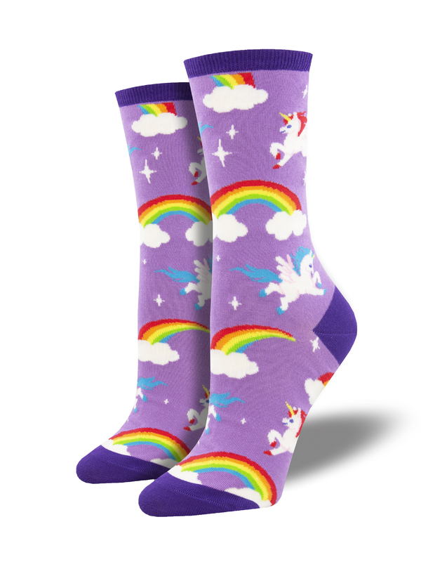 Socksmith: Pegasus Party - Lavender