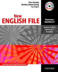 New English File: Elementary level: Multipack B: Student's Book and Workbook in One