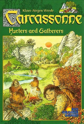 Carcassonne Expansion - Hunters and Gatherers