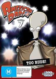American Dad - Volume 7 on DVD