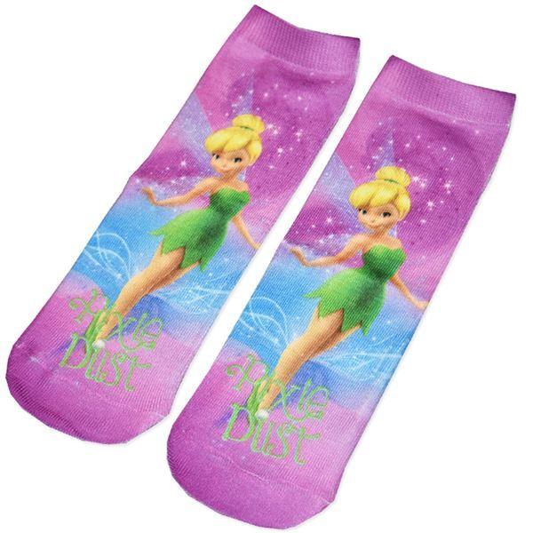 Disney Tinkerbell Socks (Size 9/12) image