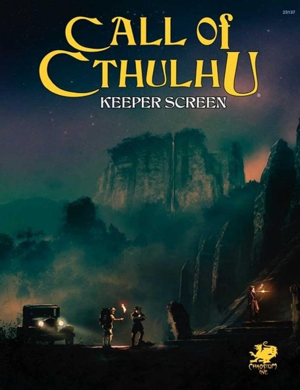 Call of Cthulhu: Keeper Screen Pack