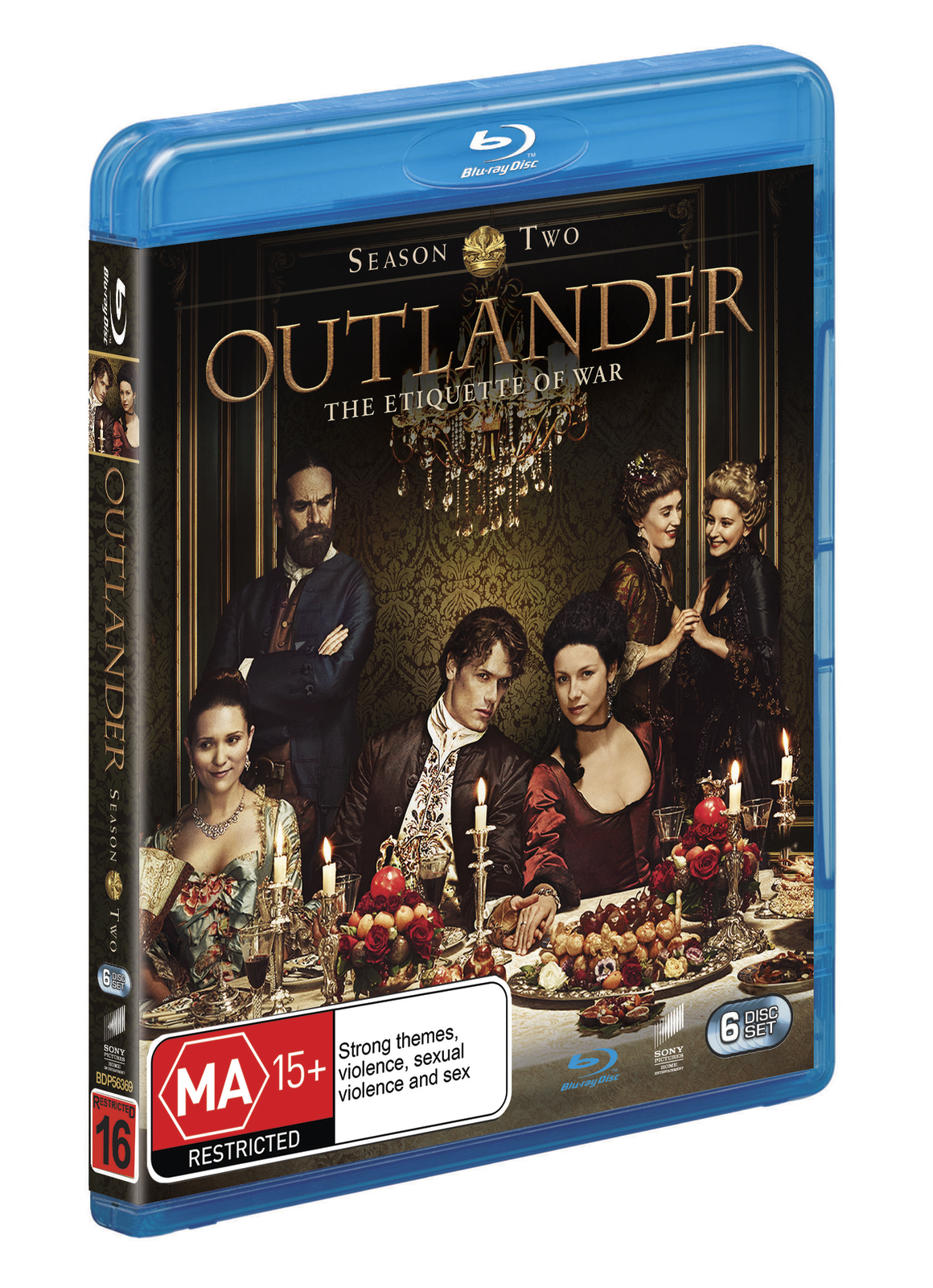 Outlander - The Complete Second Season on Blu-ray image