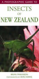 A Photographic Guide to Insects of New Zealand by Brian Parkinson
