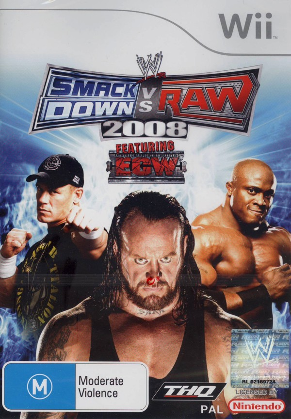 WWE SmackDown! vs. RAW 2008 for Nintendo Wii image