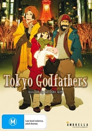 Tokyo Godfathers on DVD