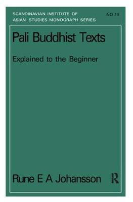 Pali Buddhism Texts Nims14 by Rune E.A. Johansson image