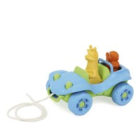 Green Toys : Dune Buggy Pull Toy (Blue)