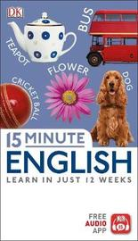 15 Minute English by DK image