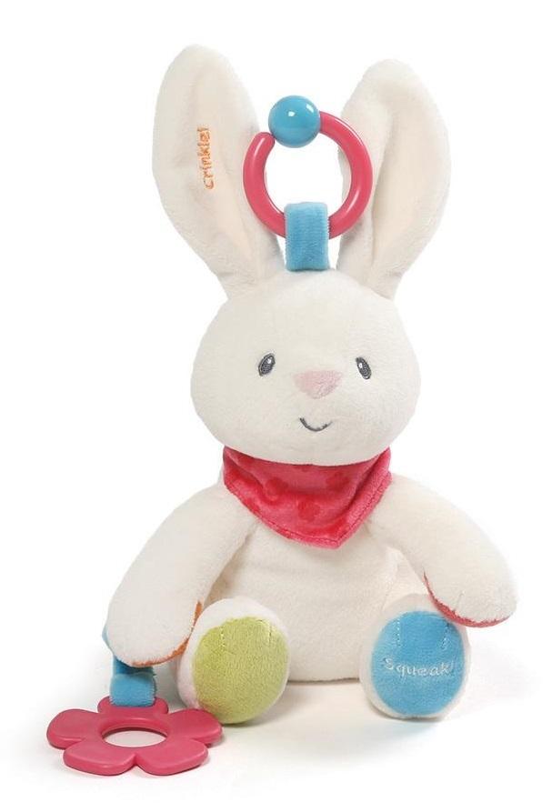 Gund: Flora Bunny - Activity Toy image