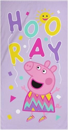 Peppa Pig: 100% Cotton Beach Towel - Balloons