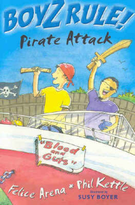 Boyz Rule 24: Pirate Attack by Felice Arena image
