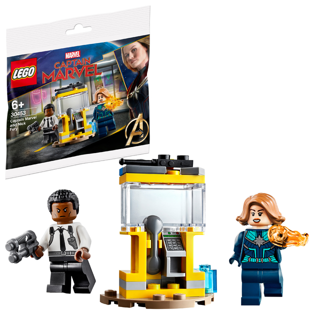 Lego: Captain Marvel and Nick Fury