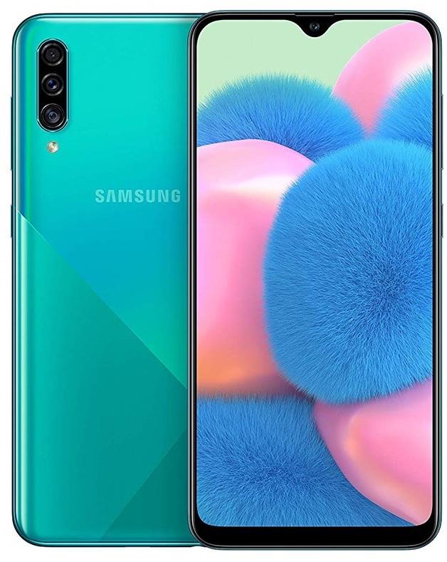 Samsung Galaxy A30s (128GB / 4GB RAM) Prism Crush Green