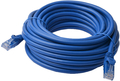 40m 8ware Cat6a UTP Snagless Ethernet Cable Blue