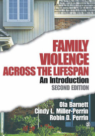 Family Violence Across the Lifespan: An Introduction by Ola W. Barnett image
