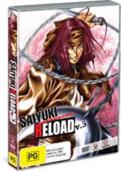 Saiyuki: Reload - Vol 3 on DVD