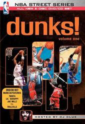 NBA Street Series: Dunks! on DVD