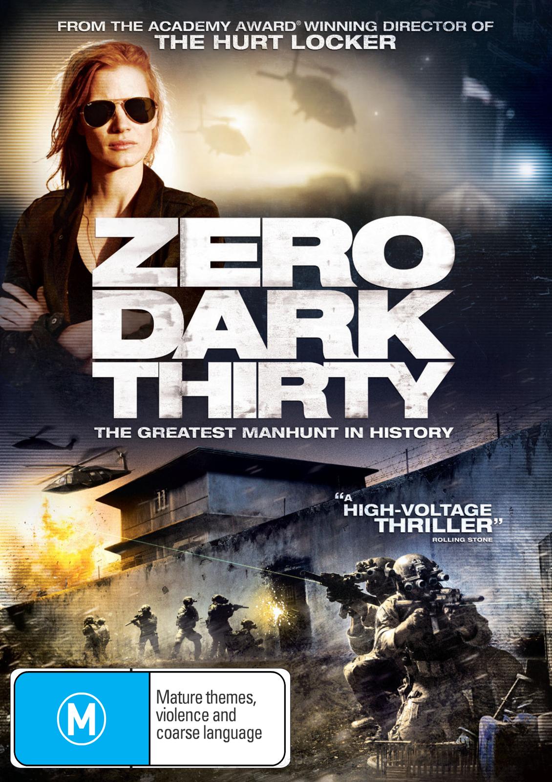 Zero Dark Thirty on DVD image
