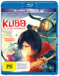 Kubo and The Two Strings on Blu-ray