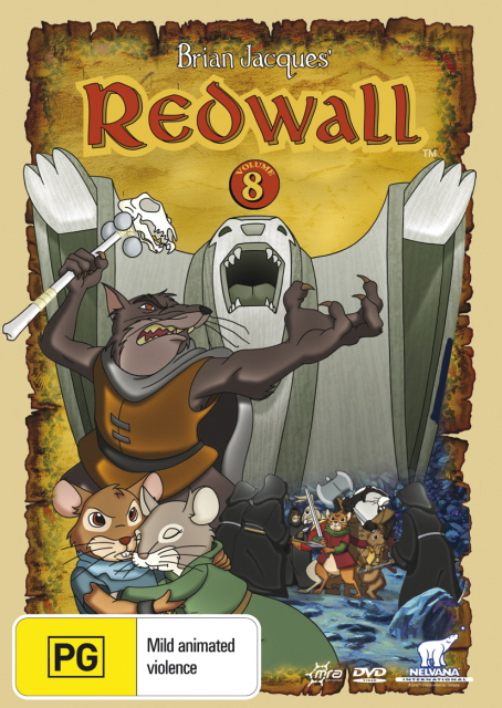 Redwall (Brian Jacques') - Vol. 8 on DVD image