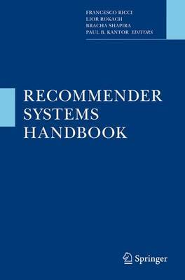 Recommender Systems Handbook image