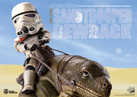 Star Wars: Dewback & Sandtrooper - Egg Attack Action Figure Set
