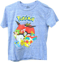 Pokemon: Blue Starters - T-Shirt (Size 4)