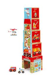 Scratch: Stacking Tower - On the Road
