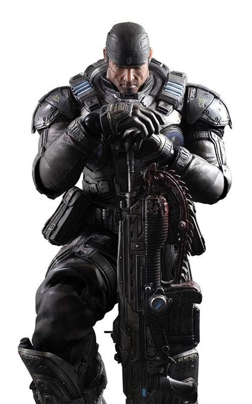 Gears of War: Marcus Fenix - Play Arts Kai Figure
