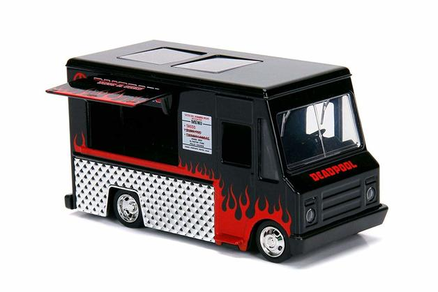 Jada: Deadpool Food Truck (Black) - 1/32 Scale Diecast Model