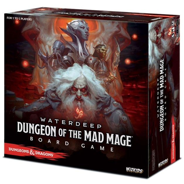 D&D Waterdeep: Dungeon of the Mad Mage - Board Game (Standard Edition)